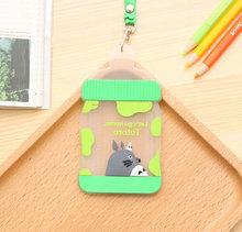 Novelty Milk Bottle Design , 12*7CM Silicone BUS Card & ID Card Holder Case Pouch BAG Holder Case Cover(China)