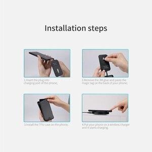 Image 5 - Için xiaomi mi 6 Nillkin QI Kablosuz şarj alıcılı kılıf arka kapak ile Uyumlu Manyetik Tutucu 5.15 xiaomi mi6