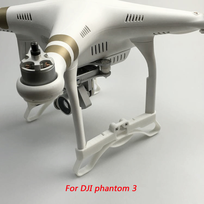 New Design 3D printing DJI Phantom 3 tripod machine accessories landing gear legs extended elongate support