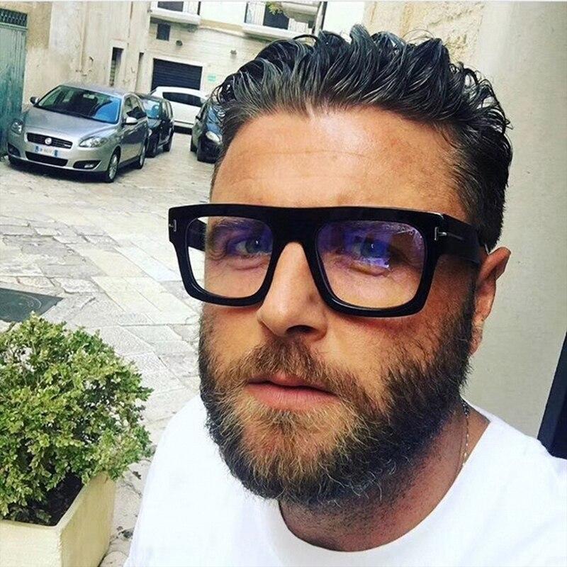 JackJad 2019 Fashion Brand Design Cool Square Style FAUSTO Eyewear Frame Glasses Vintage Optical Myopic Glasses Oculos De Grau|Men