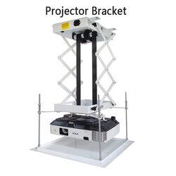 70 CM Projector Beugel Gemotoriseerde Elektrische Lift Schaar Projector Plafond Mount Projector Lift Met Afstandsbediening