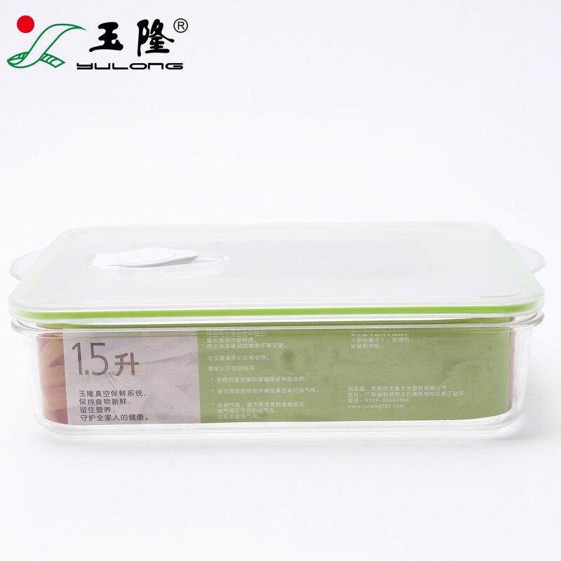 Vacío caja de almacenamiento refrigerador caja de almacenamiento de alimentos vacío máquina