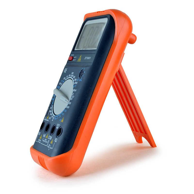 الترانزستور اختبار رقمي متعدد المهنة الفولتميتر الجهد مؤشر عداد كهربائي مع تحقيقات اختبار مكثف ESR