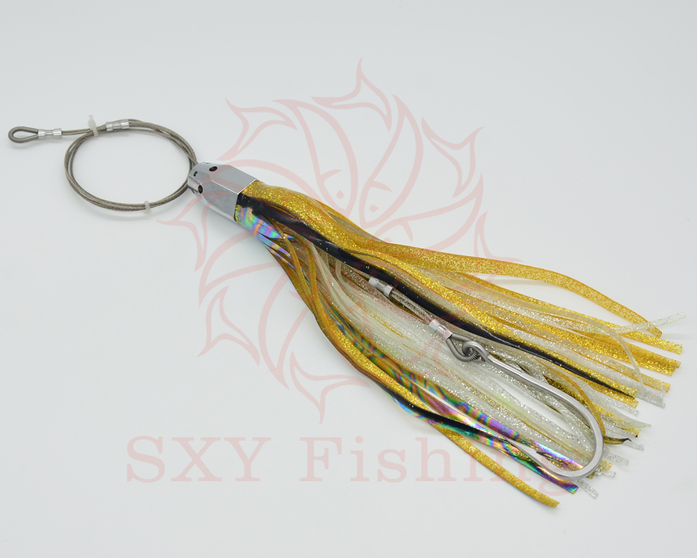 SXY FISHING FREE SHIPPING D72 Artificial Bait Drag the bait Deep sea bait Trolling bait  ...