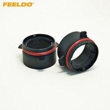 Feeldo 2 шт. автомобиля лампы гнездо адаптер для преобразования BMW E39 5 серии (type3) d2s hid ксеноновая лампа ближнего света Установка #1072