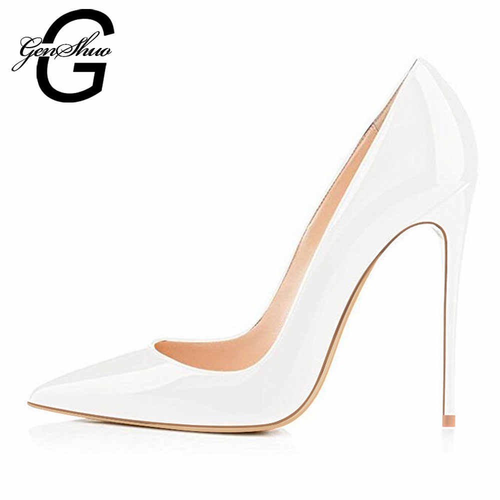 5f68eae75b ... High Heels Shoes Women Pumps 12cm Woman Shoes Sexy Pointed Toe Wedding  Party Shoes Stilettos Black ...