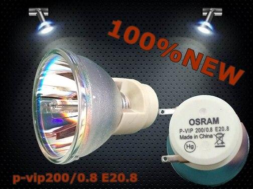 OSRAM P-VIP 200/0.8 E20.8 projector buld lamp (100% original) compatible 28 050 u5 200 for plus u5 201 u5 111 u5 112 u5 132 u5 200 u5 232 u5 332 u5 432 u5 512 projector lamp