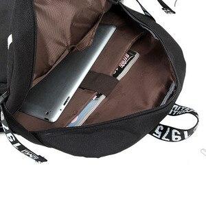 Image 5 - No Game No life I Love Human Cosplay Backpack Cartoon Luminous Student School Shoulder Bag Teenage Laptop Travel Bags