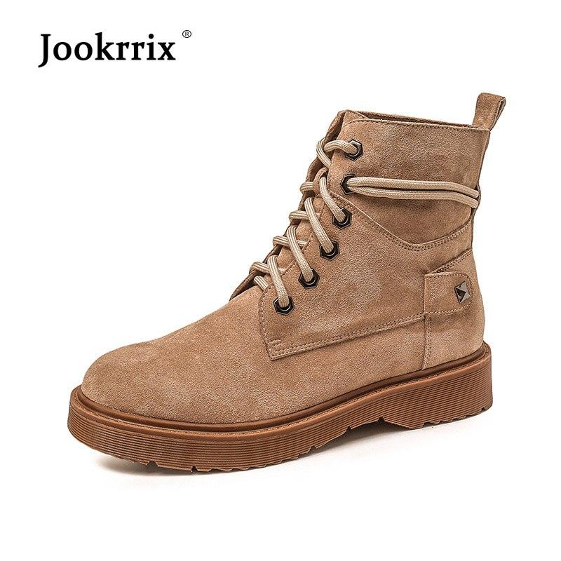 889fdc5da31303 Jookrrix De Dame Martin Femelle brown Marque Noir Fur Troupeau Cheville  D'automne Fourrure Chaussures Fur Bottes Chaussure Femmes Chaud ...