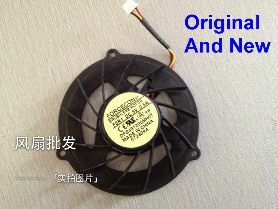 New Laptop CPU Cooler Fan For Acer Aspire 5737 5737Z 5530 5530Z 5733 5732 5732Z 5732ZG Brushless Motor DFS491205MH0T F8R1 0.5A