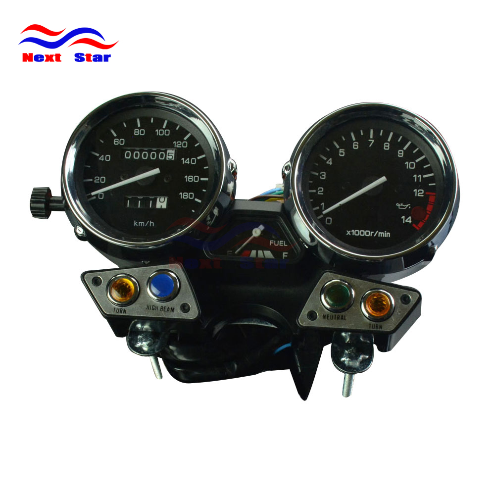 Motorcycle 180 Tachometer Odometer Instrument Speedometer Gauge Cluster Meter For YAMAHA XJR400 XJR 400 1995-1997 95 96 97 old school motorcycle gauges