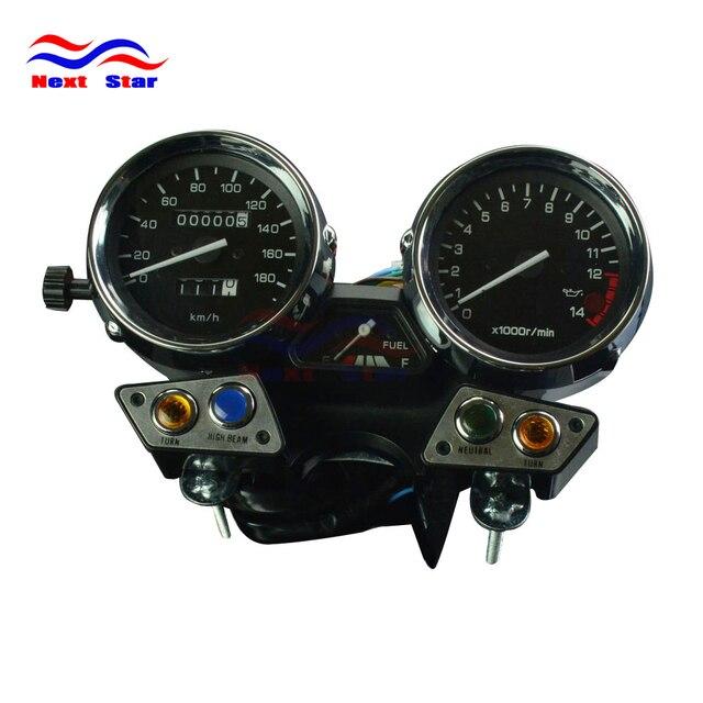 sepeda motor 180 takometer odometer instrumen speedometer gauge