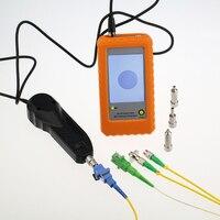 Flange adaptador módulo óptico 400X 400x Microscópio de Inspeção De Fibra Óptica Conector De Fibra Óptica Fim-face Inspector Microscópio