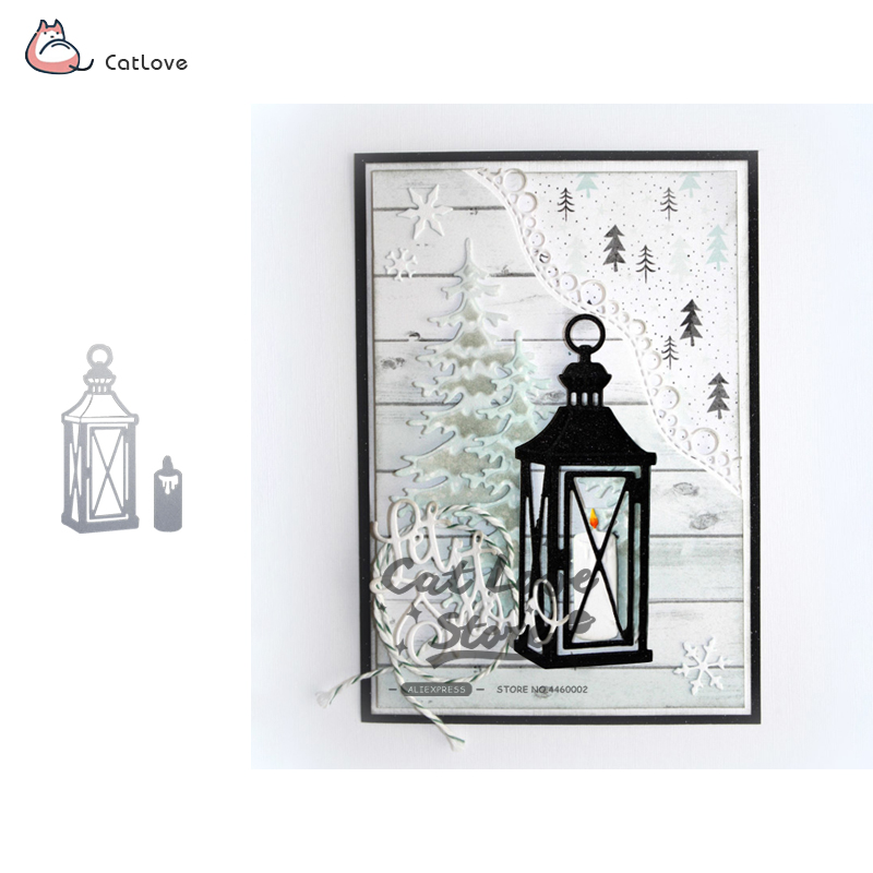 Candle Light Metal Cutting Dies Christmas Stencils For Diy Scrapbooking Paper Card Decorative Craft Embossing Die Cuts New 2018