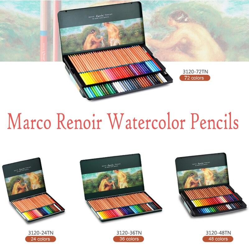 Água-solúvel Canetas Arte Marco Renoir