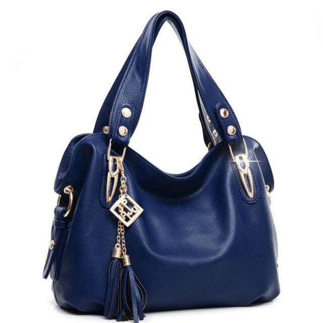 2016 Hot Selling Quality PU Leather Tassel Bag Shoulder Bags Women Messenger Bags Women Handbag Women Leather Handbags KLY-LSbag