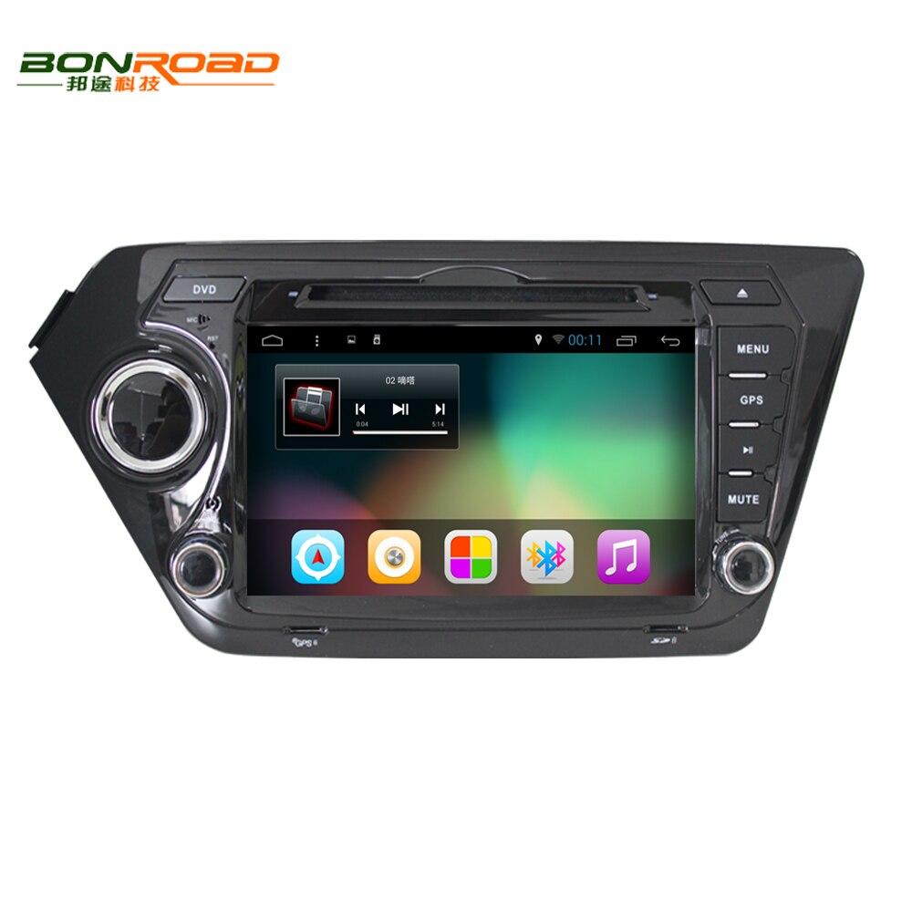"""Prix pour 8 """"2Din Android 6.01 Lecteur DVD de Voiture pour K2 Rio 2010 2011 2012 2013 2014 2015 1024*600 GPS Navigation De Voiture Lecteur Vidéo 8G carte"""