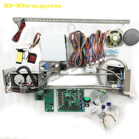 DIY Toy Crane Machine kit,Crane machine kit with crane game PCB, coin acceptor, buttons, harness. etc for crane machine