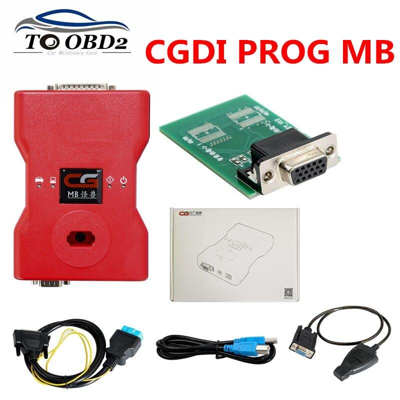 CGDI Prog MB for Benz Car Key Add Fastest for Benz Key Programmer Global version Support