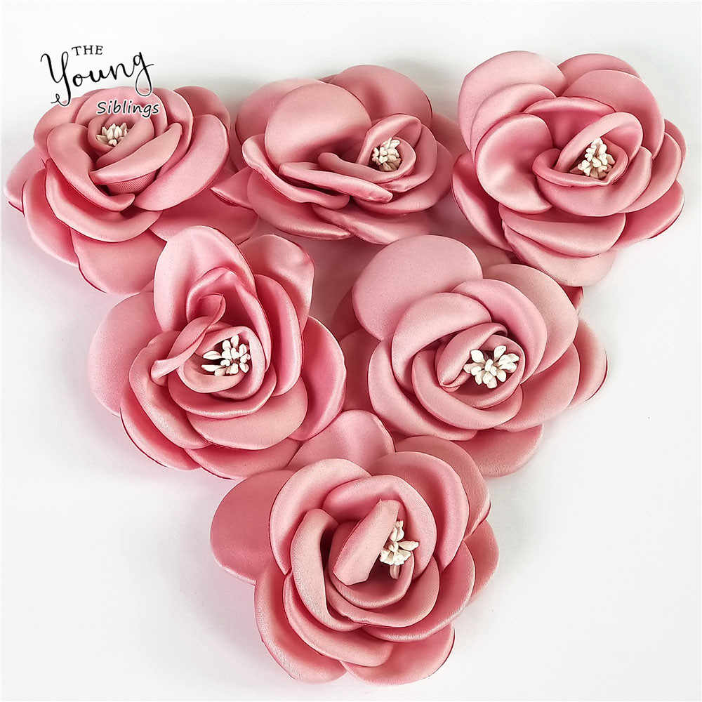 Fine Rose Cloth Artificial Flower For Wedding Party Home Room DIY Marriage Shoes Hats Accessories Silk Flower Decor Accessories
