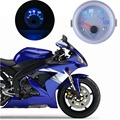 "2"" 52mm Blue Led 40-120 Degree Water Temp Temperature Celsius Pointer Auto Gauge Motocycle Car water temperature Gauge 52mm"