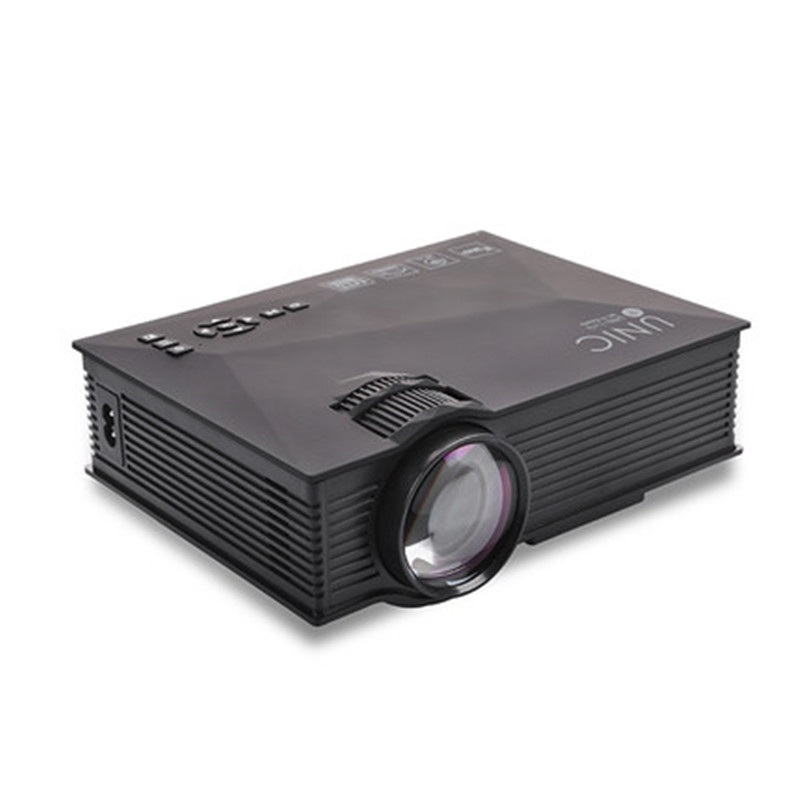 Unic uc46 multimedia mini led projector hd 1080p with wifi for Best wireless mini projector