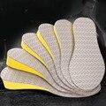 EFBABA Masculino Feminino Solas Palmilhas Aumento Da Altura Palmilha Almofada Do Pé de Couro Elástico Para Acessórios Sapatos Palmilhas de Altura Para Homens