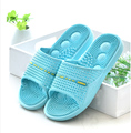 IVERNA Amantes Zapatillas de Casa de Verano Verano Femenino zapatillas de Casa antideslizantes Masculino Masaje Del Punto de Acupuntura Zapatillas De Baño De Plástico