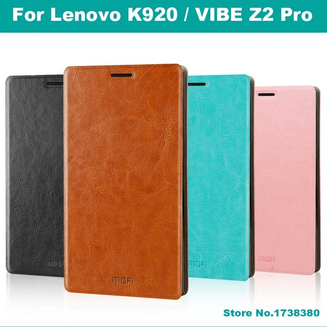Lenovo K920 Case Cover Luxury Leather Flip Phone Cover Protective Case For Lenovo K920 VIBE Z2 Pro