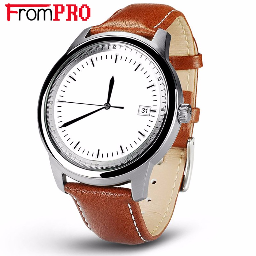 FROMPRO Luxury Bluetooth Smart Watch DM365 Full HD IPS Screen SmartWatch for iOS Samsung Huawei Android Phone Original LEM1 100%