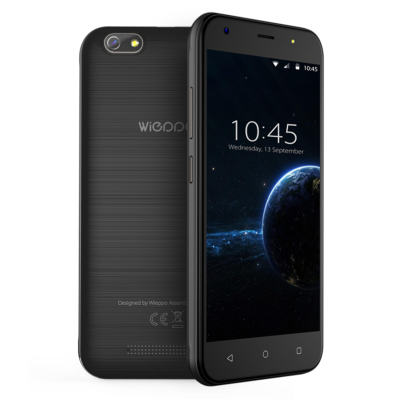 """WIEPPO S5 mobile phone 2400mah 5.0"""" Android 7.0 Quad Core 1GB+8GB Cell Phone cameras 8MP 3G WCDMA Smartphone"""