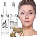 10 мл * 2 шт. бесплатная доставка экстракт плаценты овцы оригинальные жидкости Отбеливание крем для лица Естественный Плацента крем анти-старение морщины