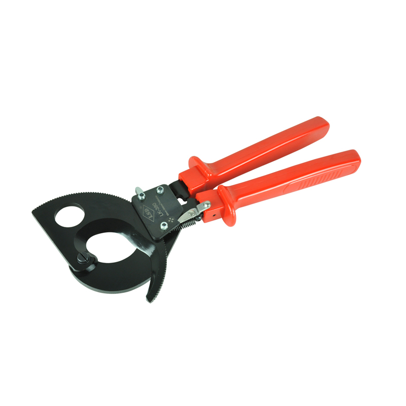 Ratchet Cable Cutter LK-380 for cutting Copper Aluminum cables 380mm2 max 4 22mm 11196 model black diamond mini size tube cutter with ratchet handle for copper aluminum and stainless tube