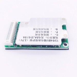 Image 3 - E bike pil 13 S 48 V Li ion Lityum Hücre 15A 18650 Pil Koruma BMS PCB kartı Denge