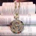 Дизайнер мода серебро 925 ювелирных изделий / розового золота 3A цирконий драгоценные камни колье