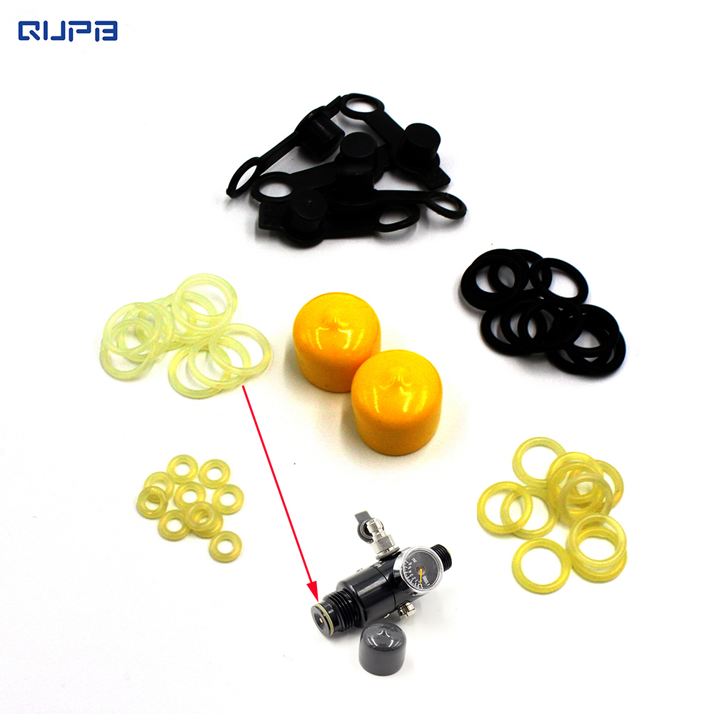 Paintball Regulator Spare Kits O-ring Replacement For Piston 47pcs Pack Free Shipping REO001