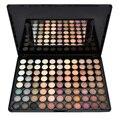 1 Pc Moda 88 Cores Quentes Matte Sombra Maquiagem Sombra de Olho paleta Para Mulheres Com Espelho & Eyeshadow Pincéis de Maquiagem Sombra ferramentas