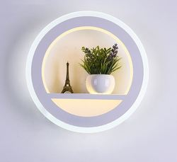 Nordycki współczesny minimalistyczny kinkiet lampa do salonu sypialnia dekoracje ślubne led kreatywne tło ścienne ściemnianie oświetlenie artystyczne|Wewnętrzne kinkiety LED|   -