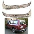 Für Toyota Land Cruiser Autana 4500 FJ80 1992 2008 Seite blasdüse ABS verchromt auto silber überzug Geändert blasdüse tim 2 stücke-in Chrom-Styling aus Kraftfahrzeuge und Motorräder bei
