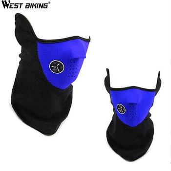 WEST BIKING Winter Neck Warm Half Face Mask Winter Sport Mask Windproof Bike Bicycle Cycling Mask Ski Snowboard Outdoor Masks 1