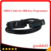 цены Car OBD OBD2 16pin Cables for SBB Key Programmer V33 OBD2 connector 16 pin obdii cable Sbb main testing cable