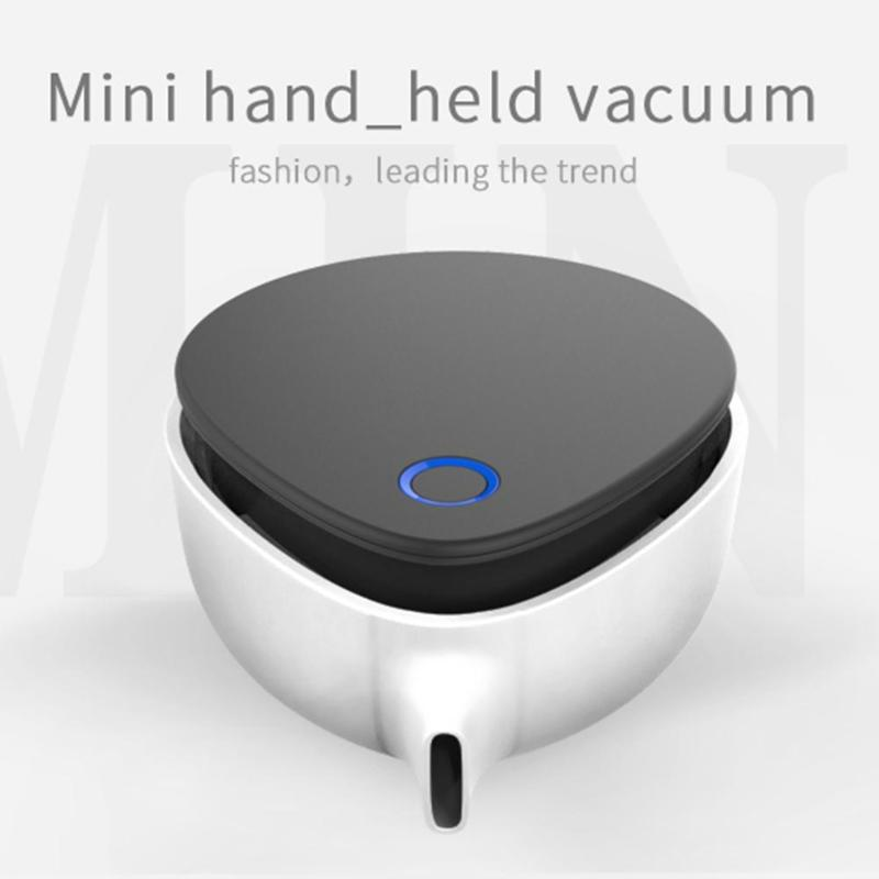 2 Suction Modes Mini Portable Wireless Handheld Desktop Vacuum Cleaner USB Charging Keyboard Office Table Cleaner Sweeper 2 suction modes usb vacuum cleaner wireless handheld vacuum cleaner mini portable keyboard desktop cleaner for home office