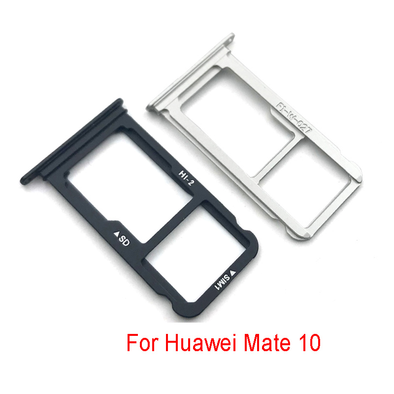 New SIM Card Holder Slot Socket Reader Tray For Huawei Mate 10 Mate10 Pro