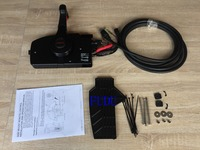 For Mercury Outboard Engine Side Mount Remote Control Box With 14Pin 20ft Wire Harness Part # 881170A14