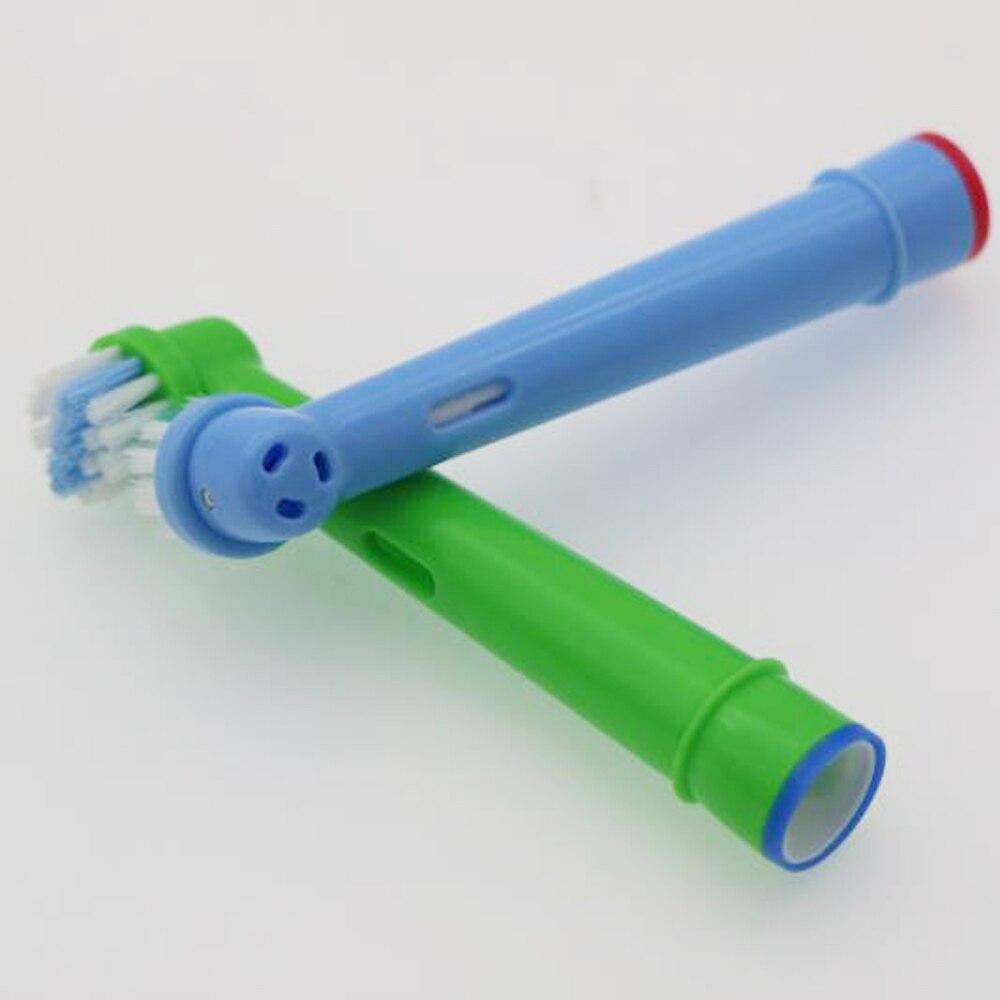 4pcs Kids children Brush Heads Electric Toothbrush For Oral B/Braun/SmartSeries/TriZone/Advance Power/Pro Health/Triumph/3D950TX