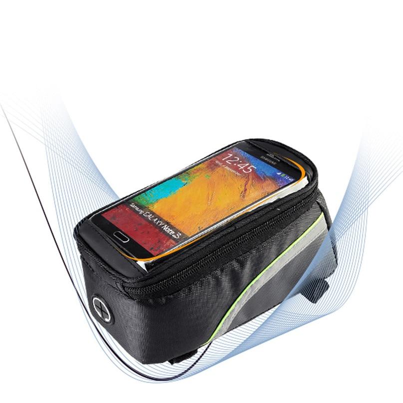 Bicycle Bag Waterproof MTB Bike Front Top Frame Handlebar Bag Bike Accessories For 5.5 Cellphone wholesale #2a09 (4)