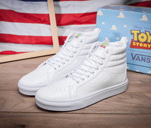 Vans x toy story classics sk8-hi unisex winter warm shoes for men's and women's skateboarding sneakers