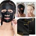 Carbón Máscara Blackhead Tiras de Poro Hidratante Negro Mascarilla Facial Remover Espinillas Del Acné Punto de Succión Negro Purificante Poro