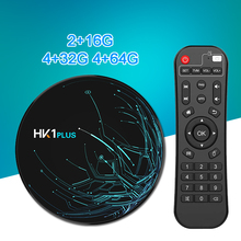 Get more info on the HK1 Plus Android 8.1 TV BOX 4GB 64GB Amlogic S905X2 Quad Core Dual Wifi BT4.0 USB3.0 H.265 4K Netflix Youtube Media Player