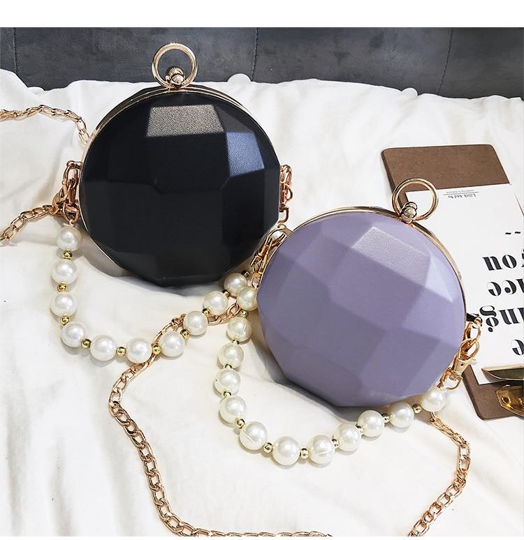 Bolsa Esfera con Alza Perlas